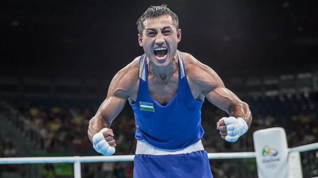 Özbek Gaibnazarov'dan altın madalya