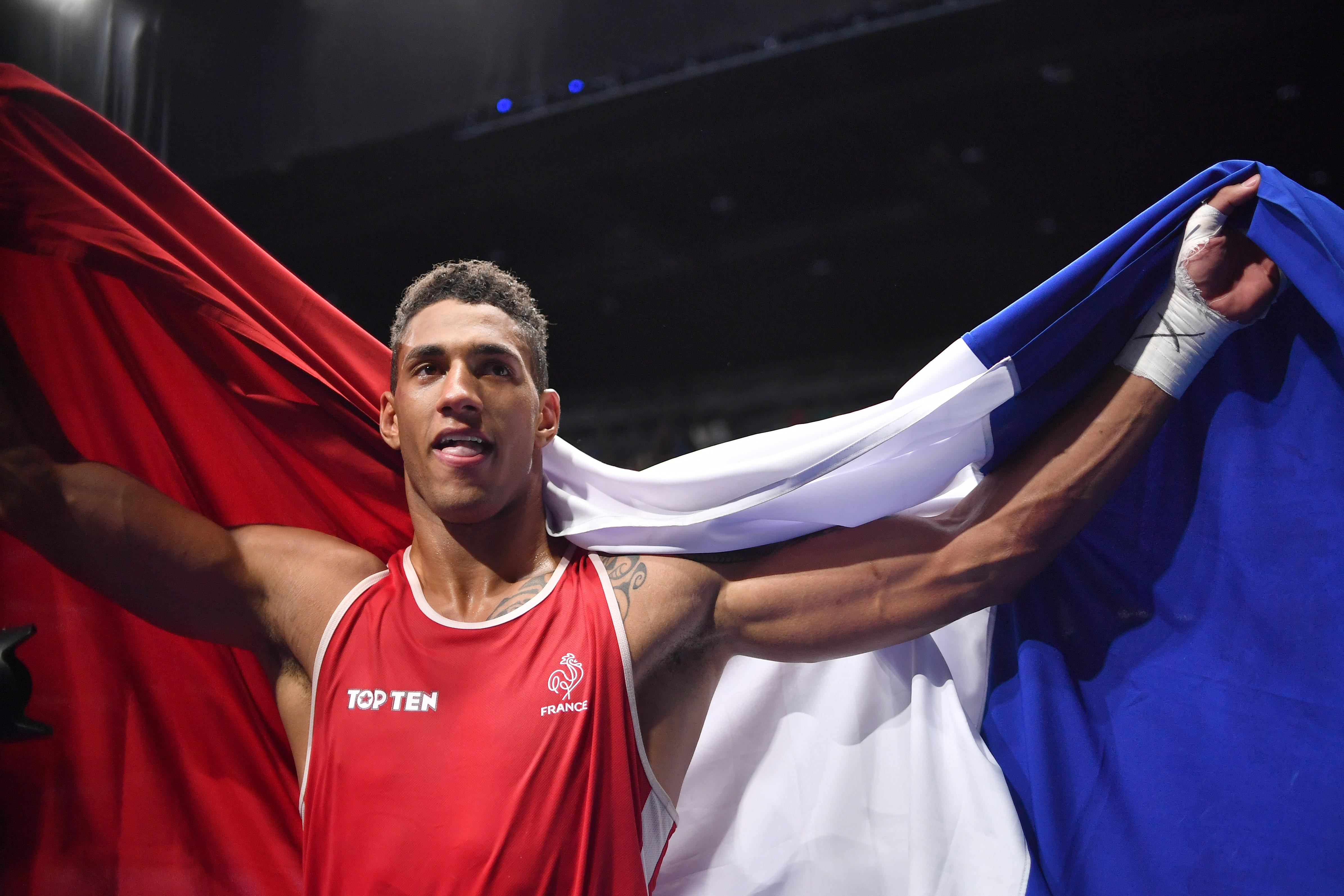Tony Yoka, dernier médaillé français des Jeux de Rio