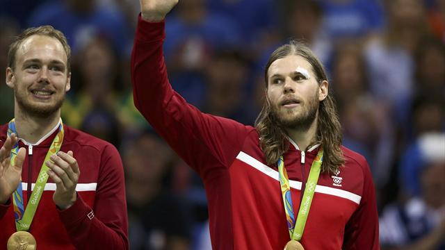 Delighted Denmark beat French champions to win first gold