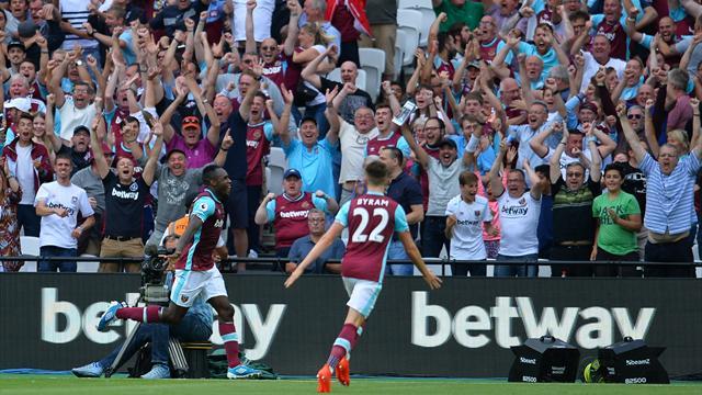 West Ham bat Bournemouth pour sa première en championnat au Stade olympique