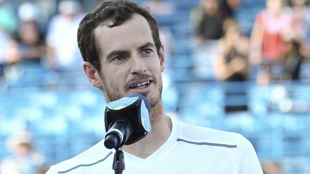Murray: I'm playing the best tennis of my life... but had a shoulder problem in Cincinnati