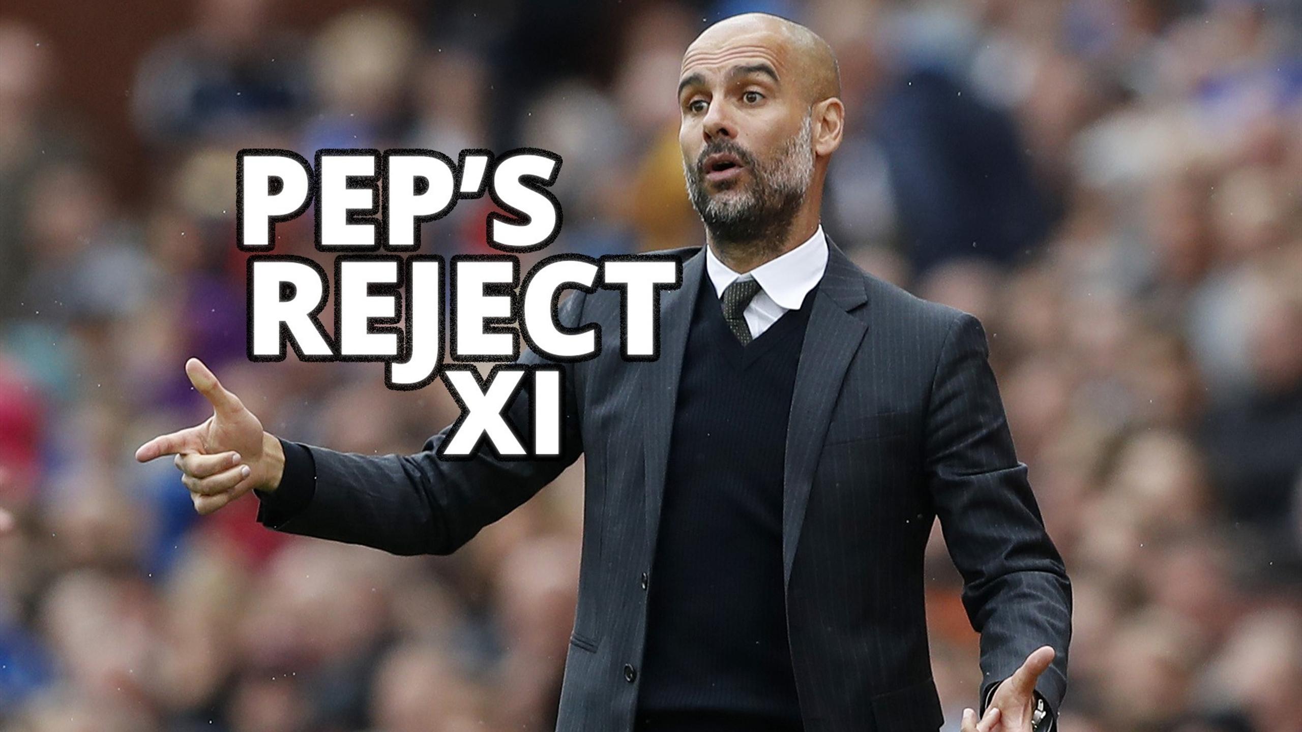 Pep Guardiola Rejects XI