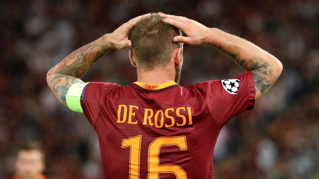 best service 4f1ca c7417 De Rossi shrugs off apparent X-rated blast at Roma fans ...