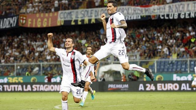 Calcio, domani il Cagliari sfida l'Atalanta e cerca la prima vittoria stagionale