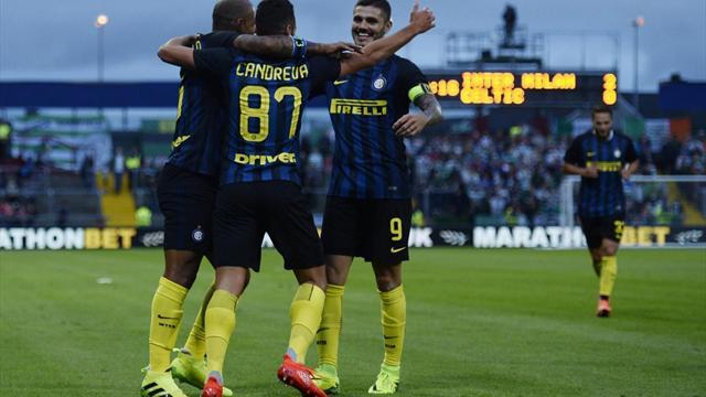 Миланский «Интер» одержал волевую победу над «Пескарой» благодаря дублю Мауро Икарди