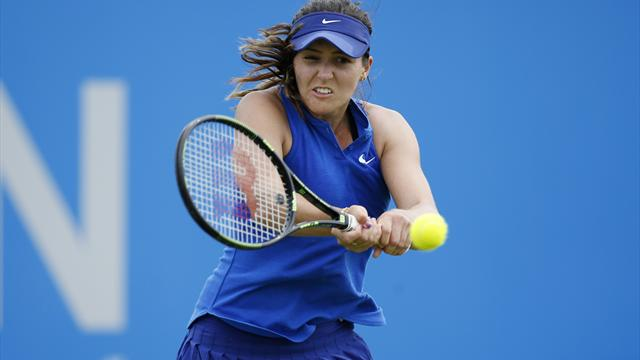 """Laura Robson felt """"stuck in mud"""" during exit in first qualifying round"""