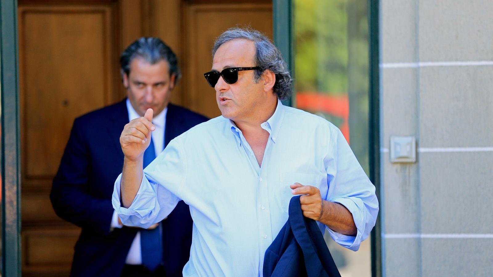 FIFA'dan Platini'ye vize