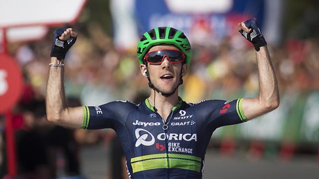 Geniez climbs to Vuelta third-stage win