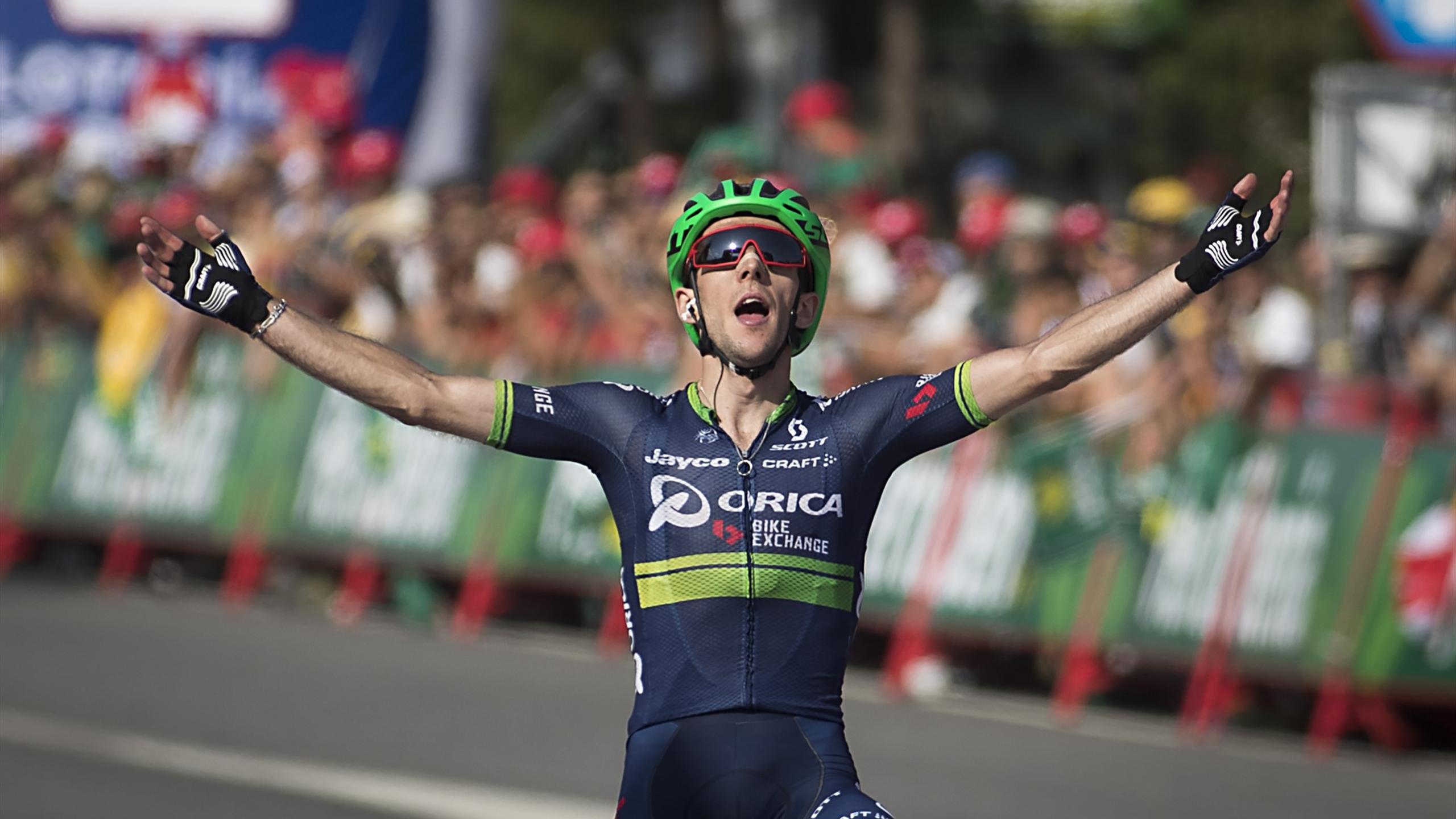 Simon Yates, vainqueur de la sixième étape de la Vuelta