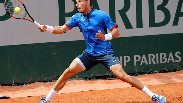 El español Roberto Bautista se clasificó para las semifinales