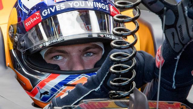 Rosberg et Verstappen devant