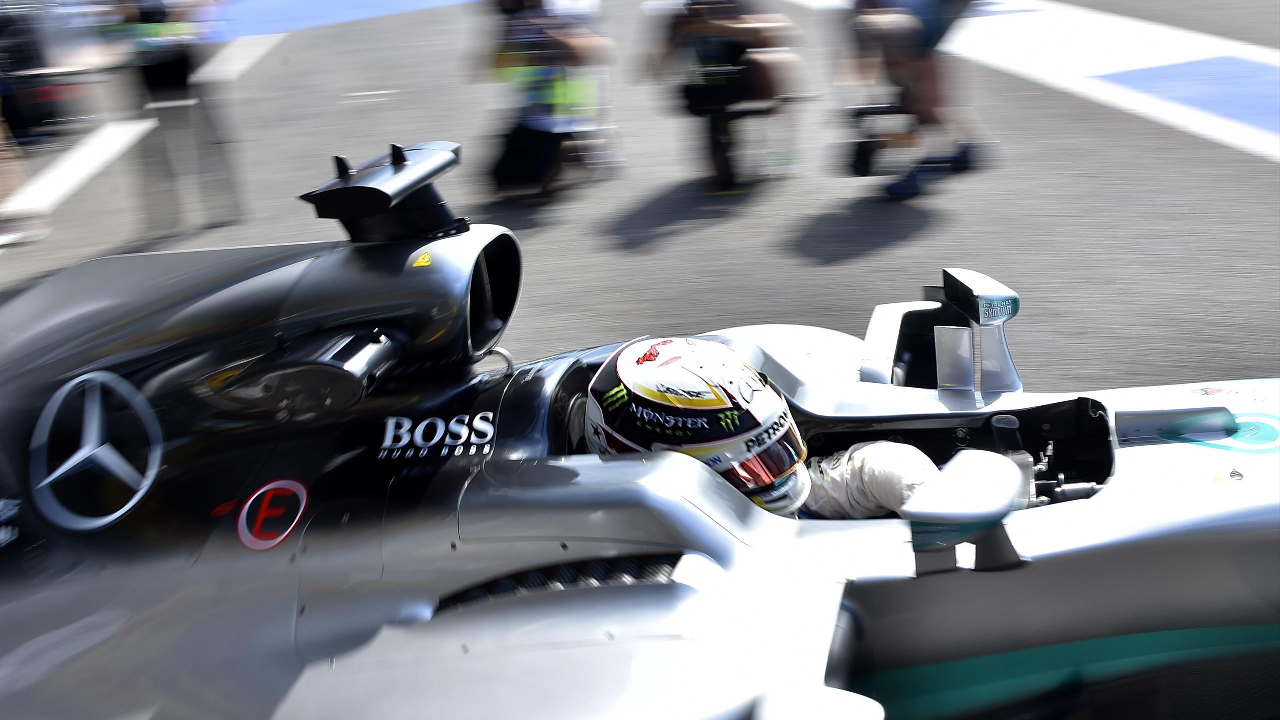 Lewis Hamilton (Mercedes) au Grand Prix de Belgique 2016