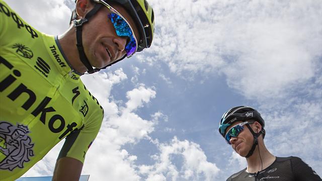 Volta a Catalunya 2017: Todas las claves y dos buenos antecedentes del primer Contador vs Froome