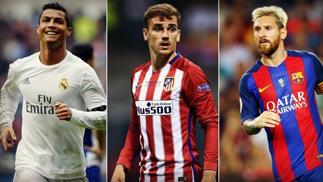 Les internautes de l'UEFA élisent leur onze-type de l'année, avec Griezmann mais sans Suarez