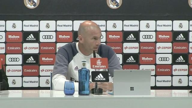 Zidane : «Quelqu'un pourrait partir…»