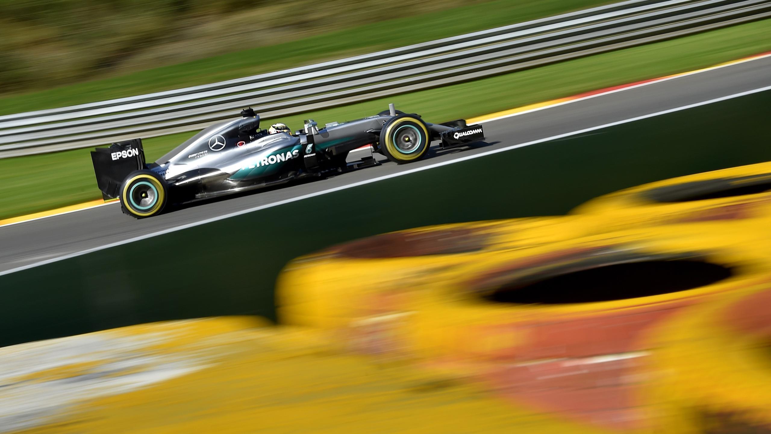 Lewis Hamilton (Mercedes) - GP of Belgium 2016