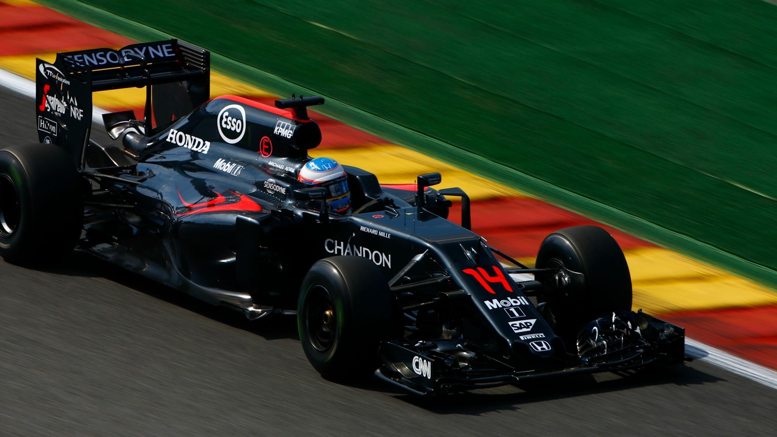 Fernando Alonso (McLaren) - GP of Belgium 2016
