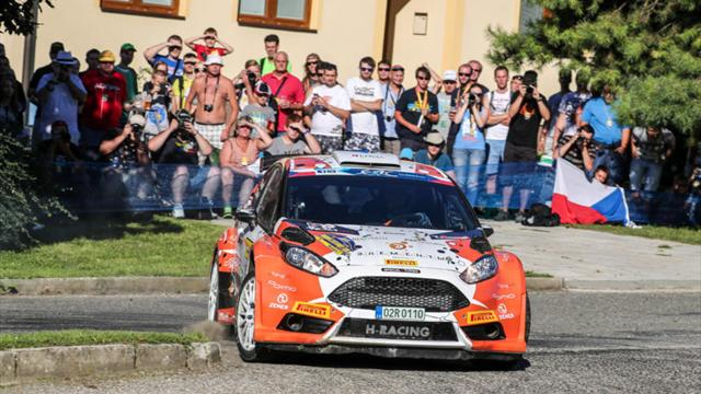 After SS5: Flying Lukyanuk cuts the gap to Kopecký on ERC in Zlín