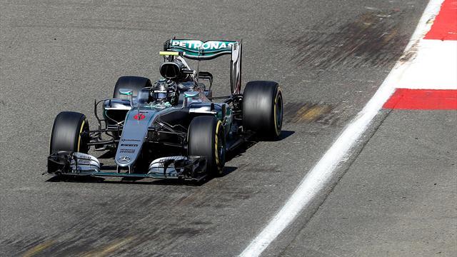 Belçika'da ilk sıra Rosberg'in
