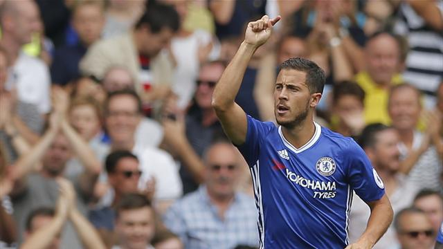 Hazard on song as Chelsea cruise past Burnley