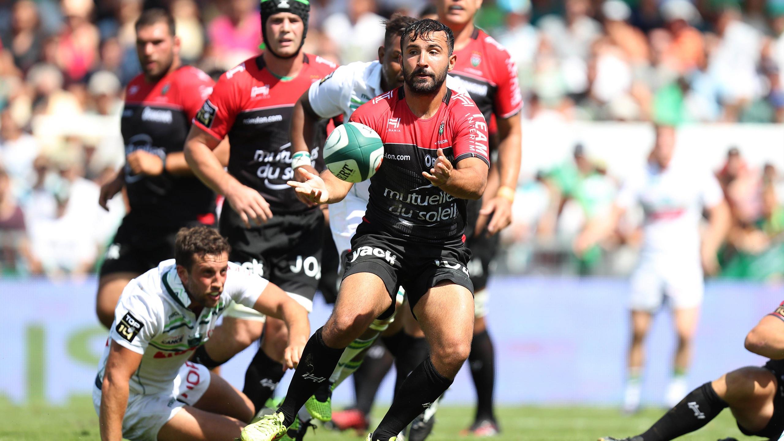 Eric Escande (Toulon) face à Pau