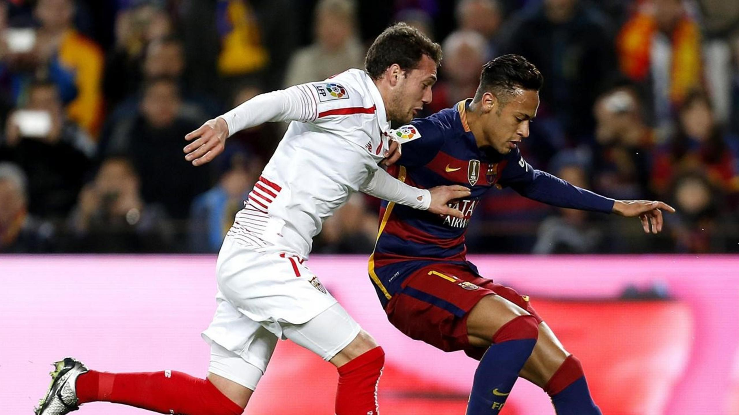 Cristoforo Neymar - Sevilla-Barcelona - Liga 2015/2016 - LaPresse