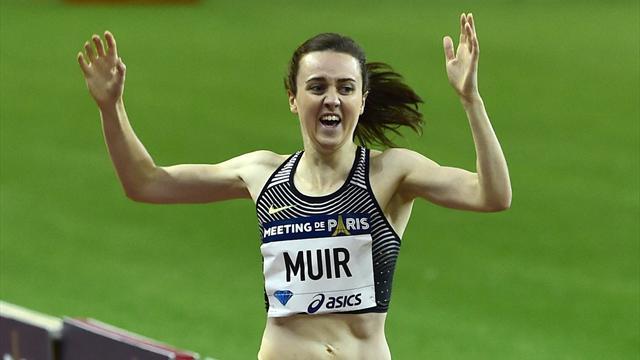 Laura Muir beats Olympic champion, breaks 1500m British record