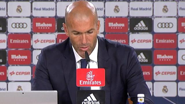 Zidane : »Le Real n'a pas été brillant»
