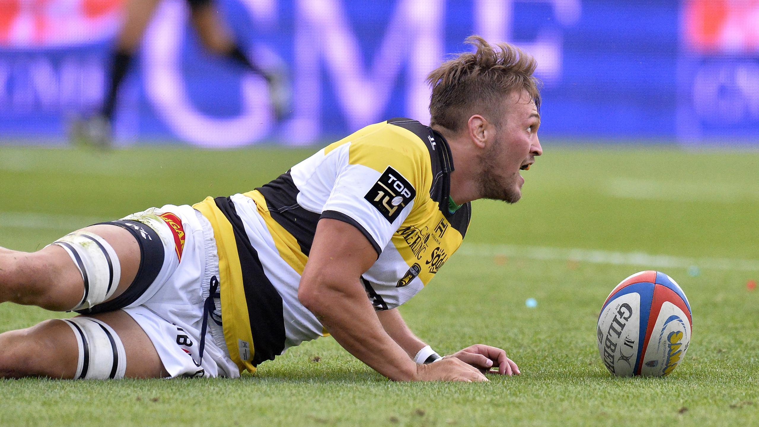 Zeno Kieft (La Rochelle) face à Grenoble - 27 août 2016