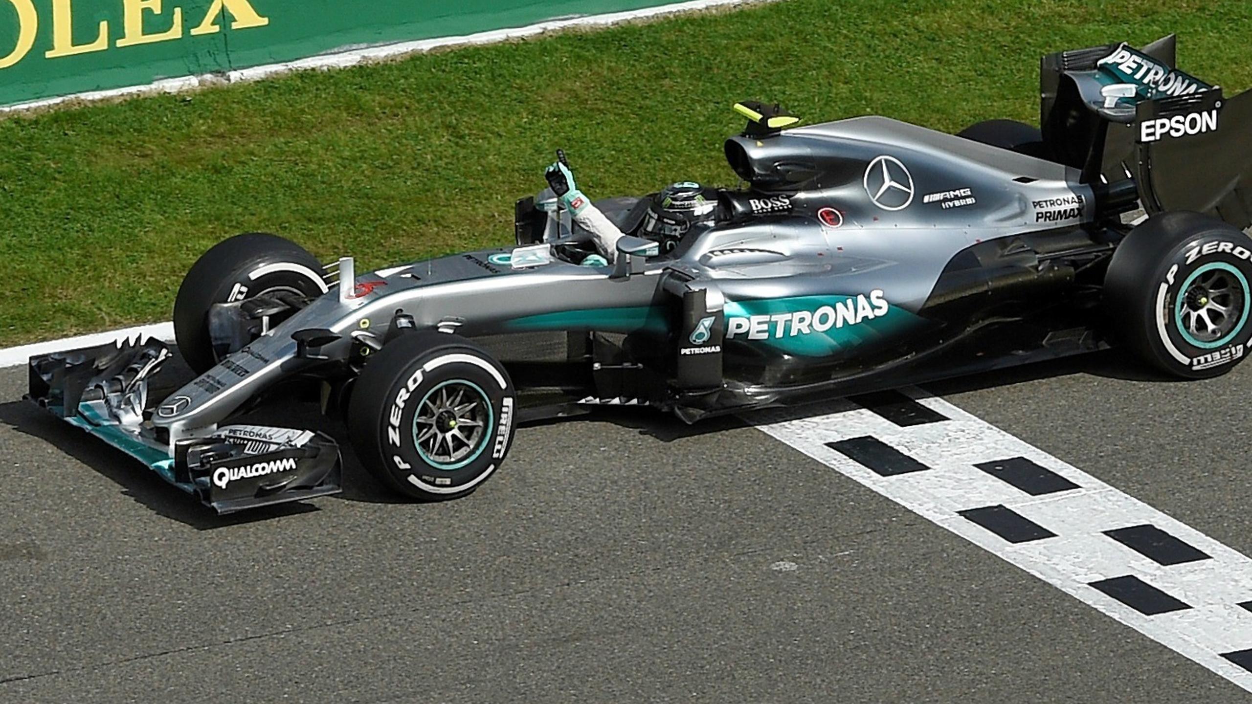 Nico Rosberg (Mercedes) au Grand Prix de Belgique 2016