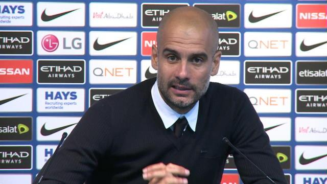 Guardiola sur le coup de coude d'Agüero : «Nous jouerons quand même à onze…»