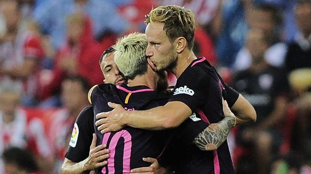 Ракитич принёс «Барселоне» минимальную победу над «Атлетиком»