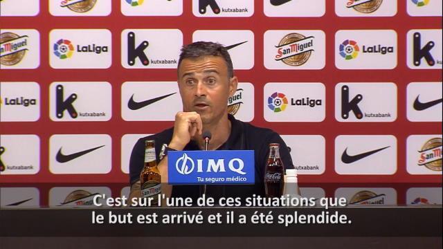 Enrique : «Nous aurions pu plier le match»