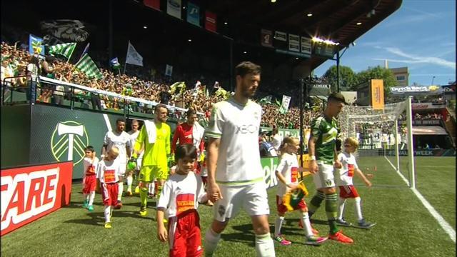 Avec quatre buts en une mi-temps, Portland a fait exploser Seattle