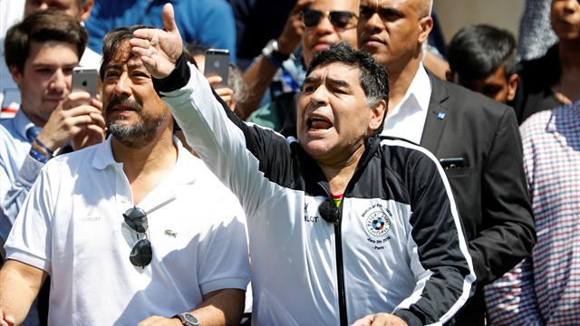 Maradona: 'Drugs were biggest problem in my life'