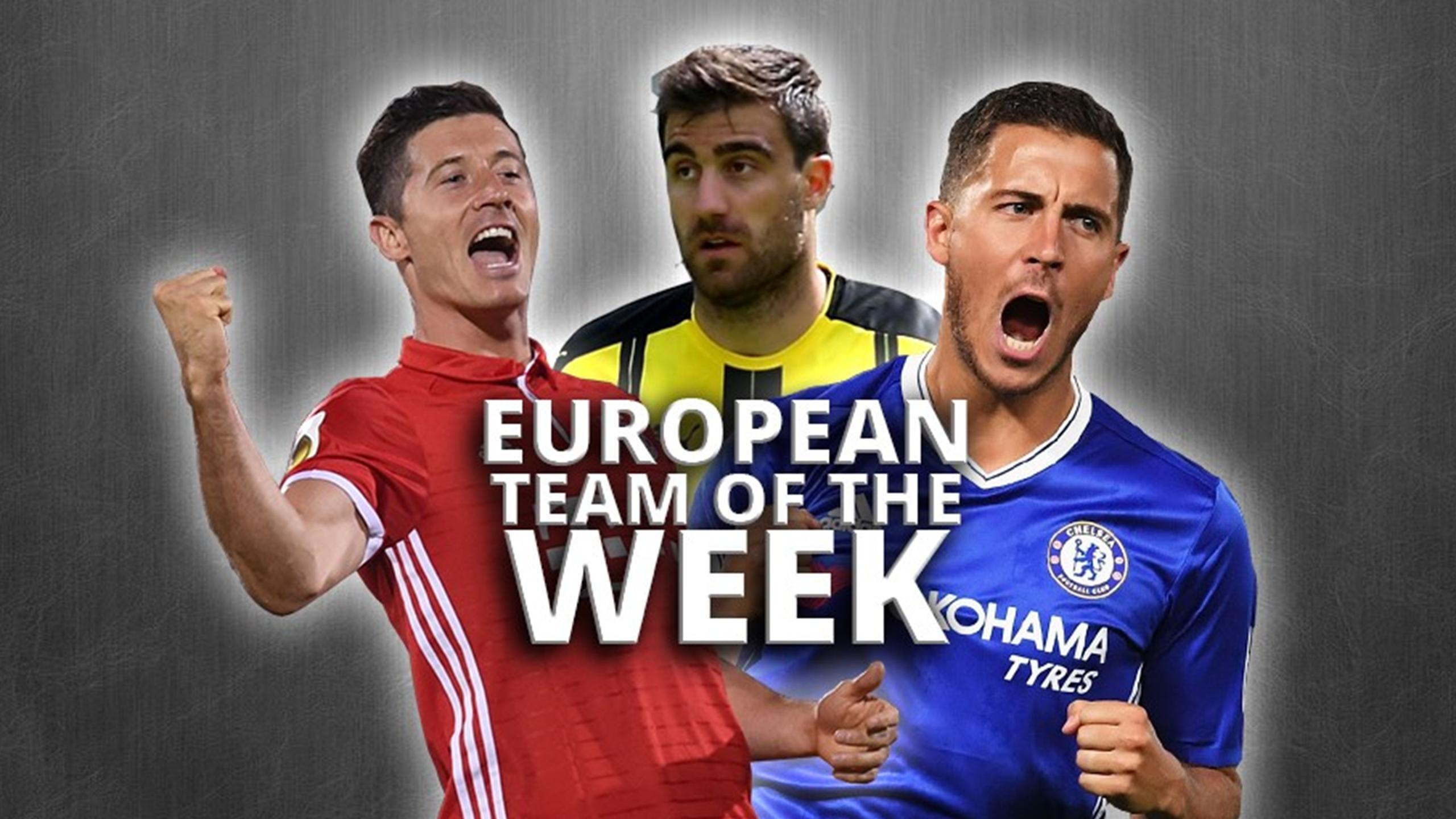 New season - same old Lewandowski! - European Team of the Week