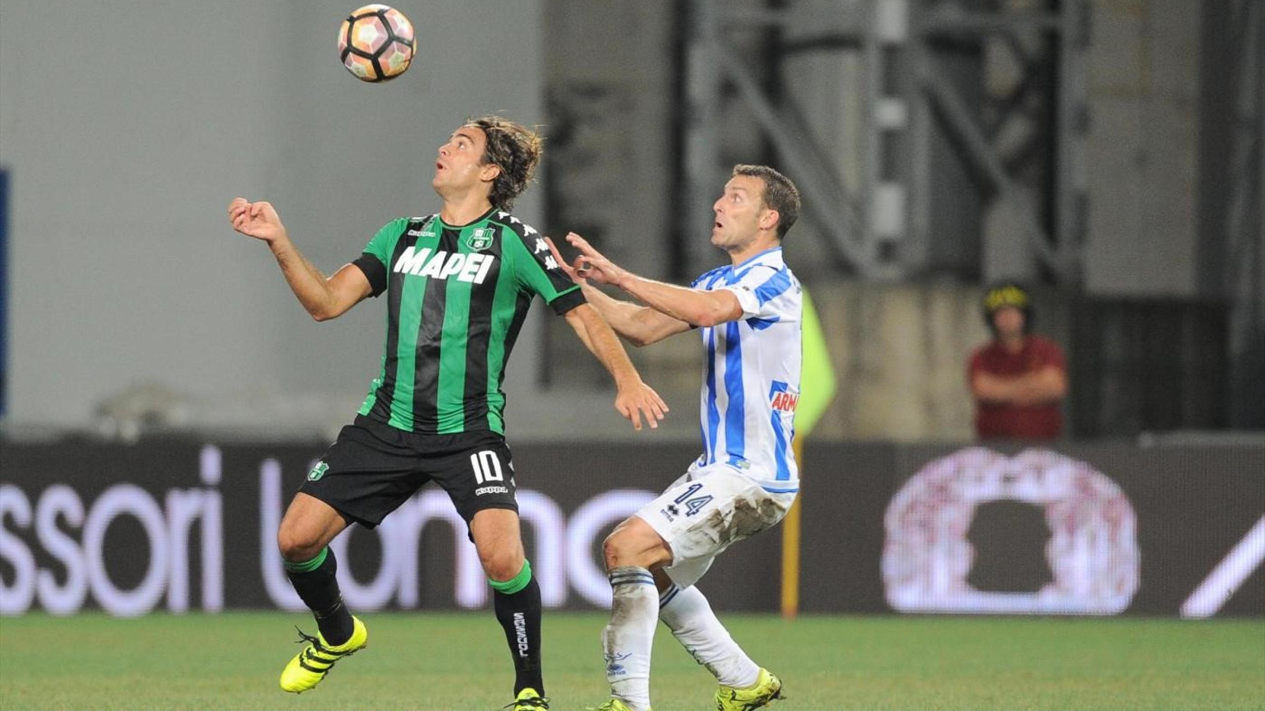 Matri Campagnaro - Sassuolo-Pescara - Serie A 2016/2017 - LaPresse