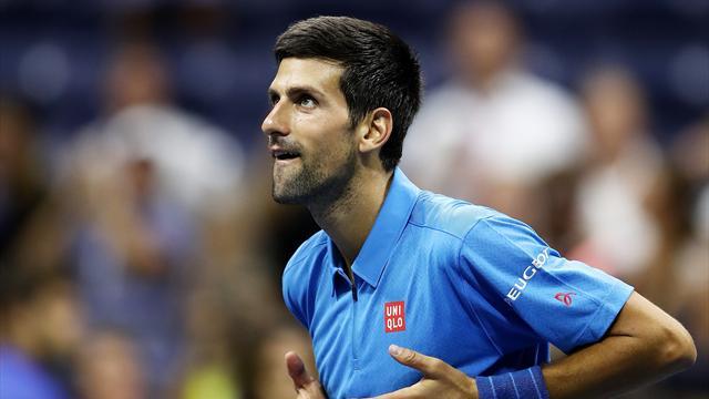 Un tour au frais pour Djokovic
