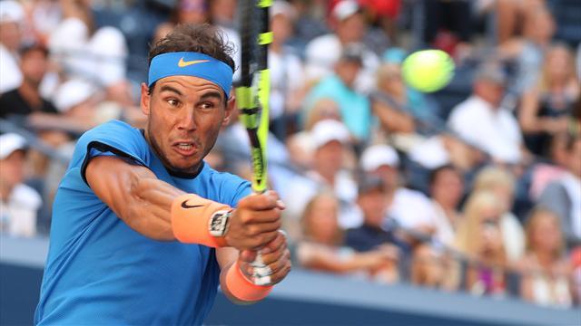 US Open 2016: Los puntazos de Nadal ante Istomin y las mejores jugadas del partido