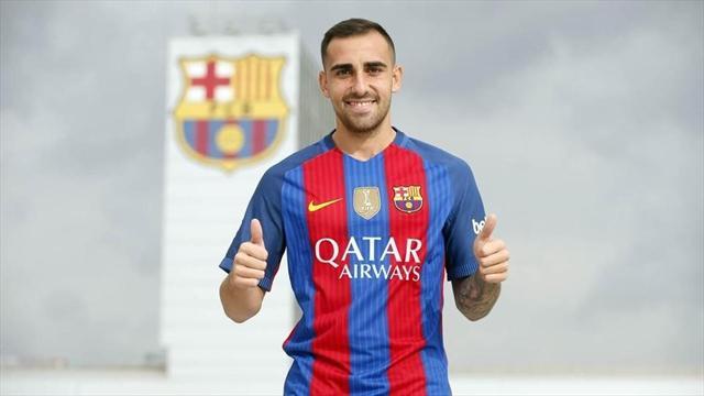 Алькасер перешел в «Барселону» за 30 миллионов евро