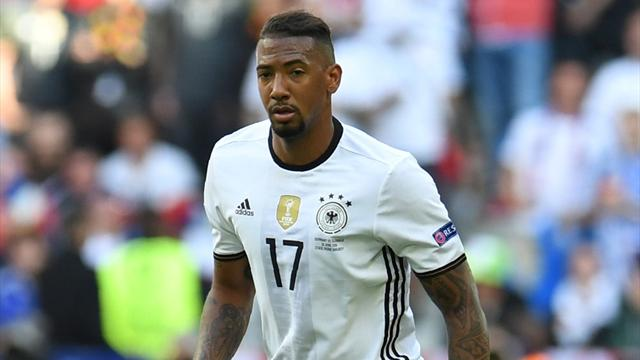 Defender Jerome Boateng out of Germany's last games of 2016