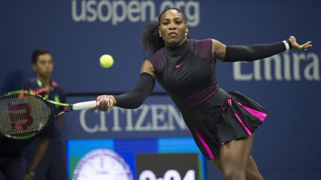 6-3, 6-3 : la victoire limpide de Serena Williams pour rallier le 2e tour