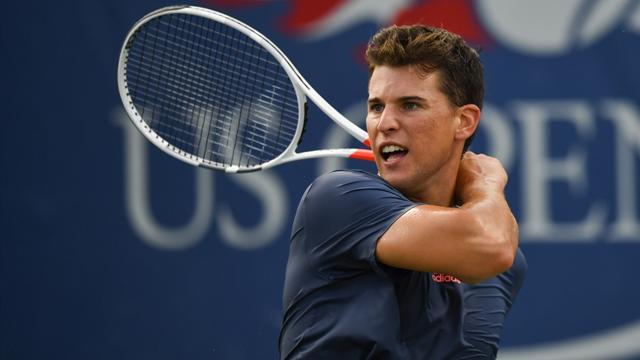 Tennis : Vainqueur en cinq manches, Thiem a d� s'arracher pour �viter la sortie