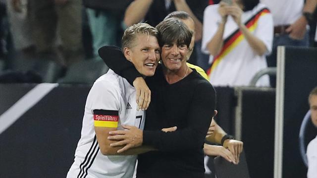 L'Allemagne a fêté comme il se doit la dernière de Schweinsteiger en battant la Finlande