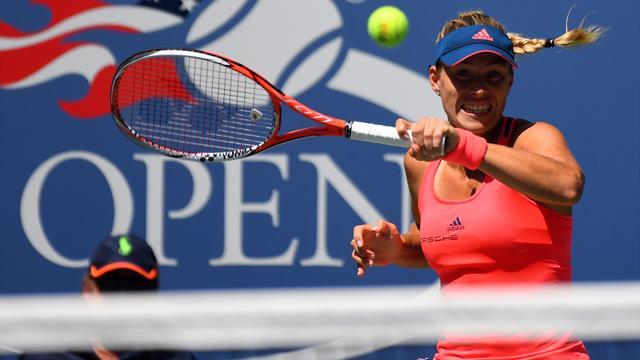 Round-up: Kerber and Vinci storm through, Kvitova battles into second round