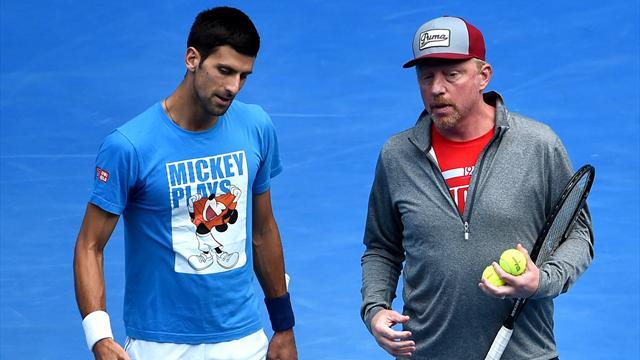 Djokovic et Becker, c'est fini