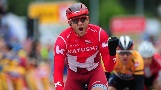 Кристофф выиграл второй этап «Арктической гонки» в Норвегии