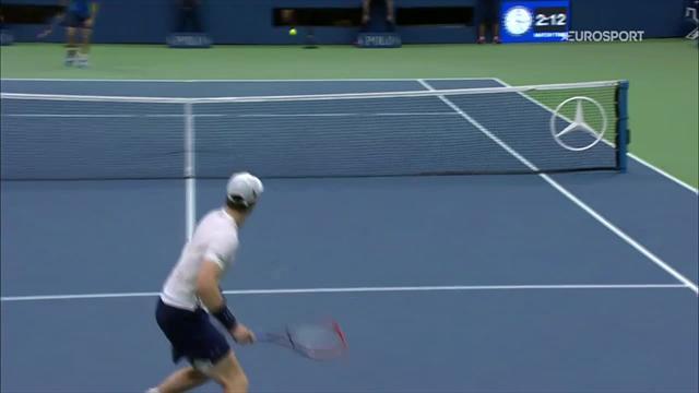 Murray a fait le show, Granollers n'était pas en reste : les 5 meilleurs points de leur match