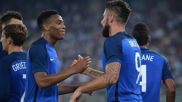 Trois buts passés à l'Italie : les Bleus ont réussi leur rentrée