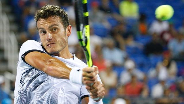 Male Fognini che perde in due set da Robredo — ATP Buenos Aires